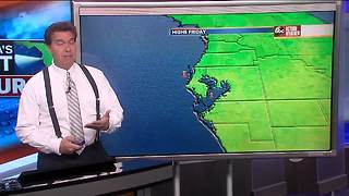 Florida's Most Accurate Forecast with Denis Phillips on Thursday, March 8, 2018