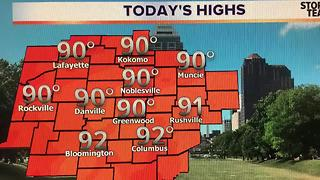 Hot & More Humid - Storms Return Tomorrow