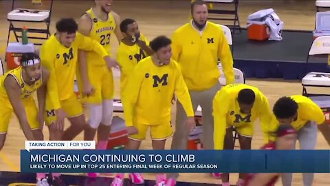 Michigan Basketball continues to climb entering March