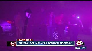 Funeral for 1-year-old killed - Video