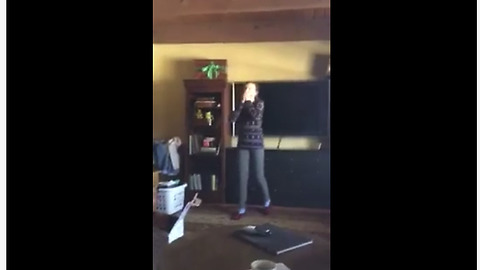 Girl has hysterical breakdown over new puppy surprise