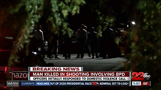 One man dead after officer involved shooting with Bakersfield Police