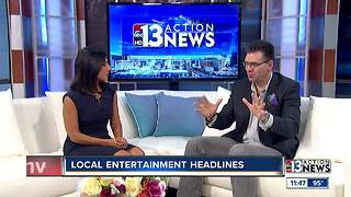 local entertainment headlines with John Katsilometes - Video