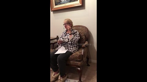 Grandmother overcome with emotion after getting tickets to see tenor Andrea Bocelli