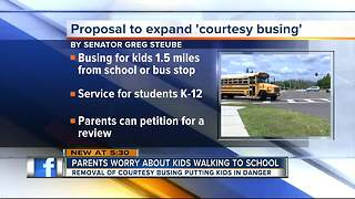 Florida State Senator proposes massive expansion of 'courtesy busing' - Video