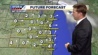 Dry but cool Friday in store - Video