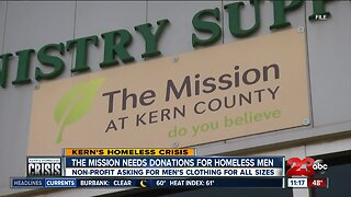 Kern's Homeless Crisis: The Mission needs donations