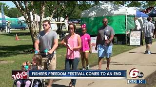 Fishers Freedom Fest comes to an end - Video