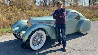 We Built The World's Only Bugatti Aerolithe | RIDICULOUS RIDES