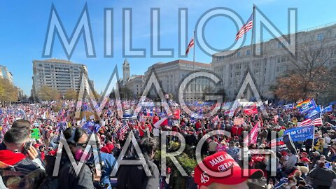 MILLION MAGA MARCH | STOP THE STEAL Washington, DC Footage From The 2nd American Revolution