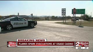 Sand Springs fires near casino - Video