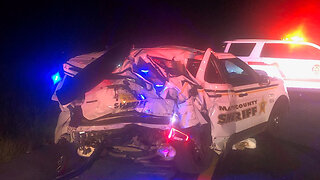 Driver hits two Martin County Sheriff's Office patrol cars on I-95