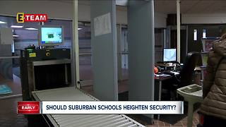 Should suburban schools heighten security