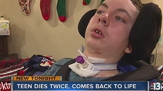 Christmas Miracle: Family spends it together after teen suffers near-death crash