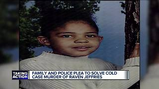 Renewed hope in finding person who killed, burned 7-year-old Raven Jeffries - Video