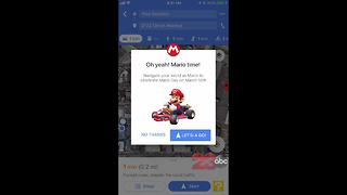 How to turn Google Maps into Mario Kart - Video