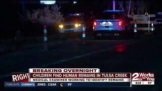 Human remains found in north Tulsa