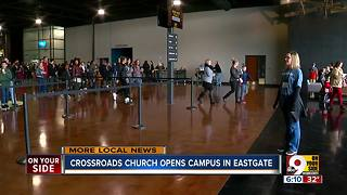Crossroads opens campus in Eastgate - Video