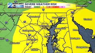 Saturday's Severe Weather Threat