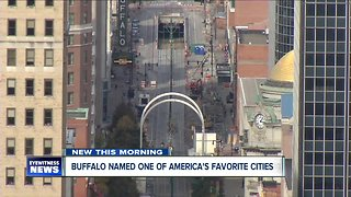 Buffalo named one of America's Favorite Cities