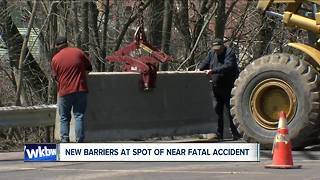 Woman returns to near-fatal accident scene to thank crews - Video