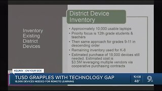 TUSD needs 18,000 devices for remote learning