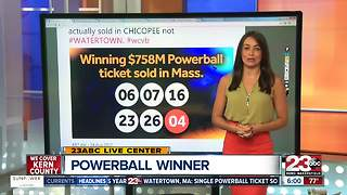 Powerball Jackpot Winner and Wrong Location - Video