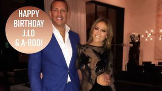 A-Rod throws J.Lo an epic surprise birthday party - Video