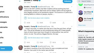 Twitter fact-checks Trump tweet for the first time (b95)
