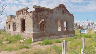 Drone captures nostalgic footage of Villa Epecuén - Video