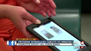 Inmates getting tablet devices in Charlotte County - Video