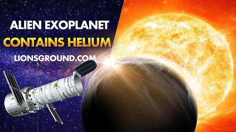 Hubble Space Telescope Detects Helium in Exoplanet WASP-107 b