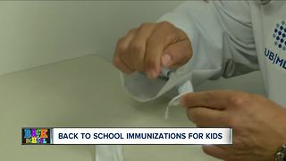 What to know about immunizations
