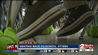 Dealing with back-to-school jitters