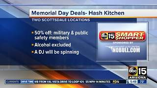 Memorial Day deals for veterans - Video