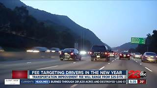 DMV rolls out new laws in new year: Transportation Improvement Fee - Video