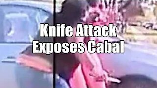 Knife Attack Exposes Cabal. Transhuman Agenda. B2T Show Apr 23, 2021 (IS)