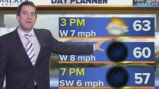 13 First Alert Weather for Monday morning