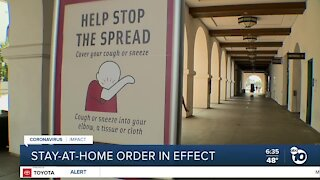 New stay-at-home order takes effect in San Diego County