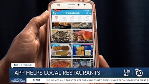 App helping local restaurants