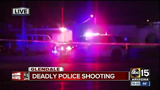 Suspect shot and killed by police in Glendale; no officers injured - Video