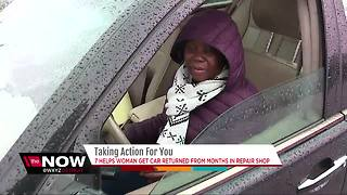 Taking Action team helps get woman's car back - Video