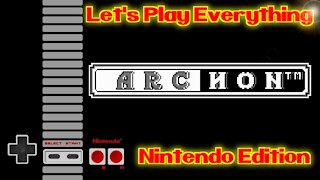 Let's Play Everything: Archon
