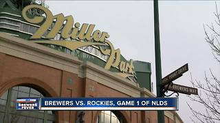 Milwaukee Brewers gear up for NLDS Game 1