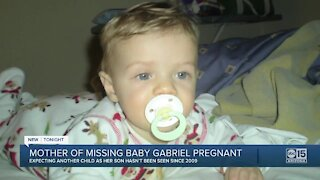 Elizabeth Johnson, mother of 'Baby Gabriel,' now pregnant with child, as her son has not been seen since 2009