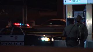 OVERNIGHT: One shot, two stabbed at Boulder Highway 7-Eleven - Video