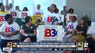 Initiative to boost BCPSS Enrollment sees success - Video