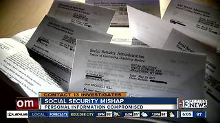 Questions about identity security raised by Social Security paperwork mix up - Video
