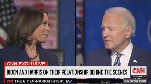 """Joe Biden to CNN's Jake Tapper: If Kamala & I Disagree, """"I'll Come Down With a Disease and Resign"""""""