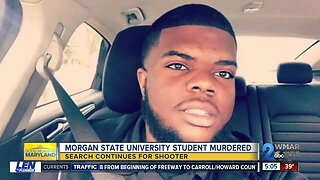 A Morgan State University student was killed on Wednesday night in Northeast Baltimore